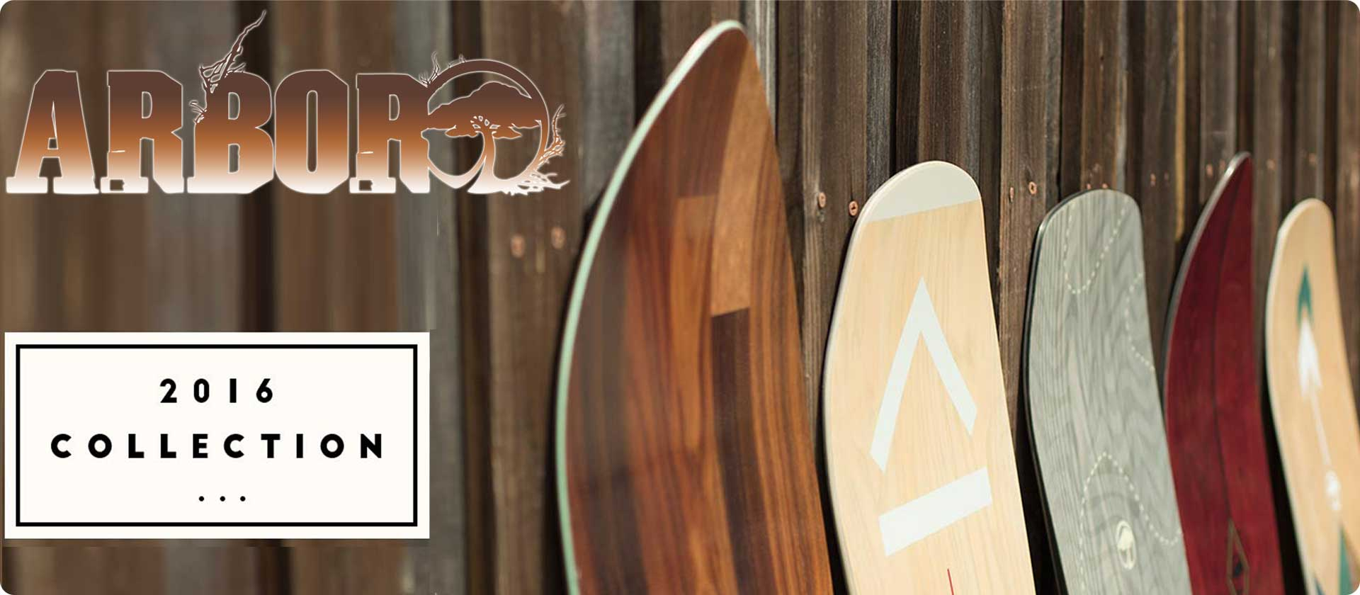2016 Arbor Snowboard Collective at SoCal Surf Shop -Your Southern California Lifestyle Store