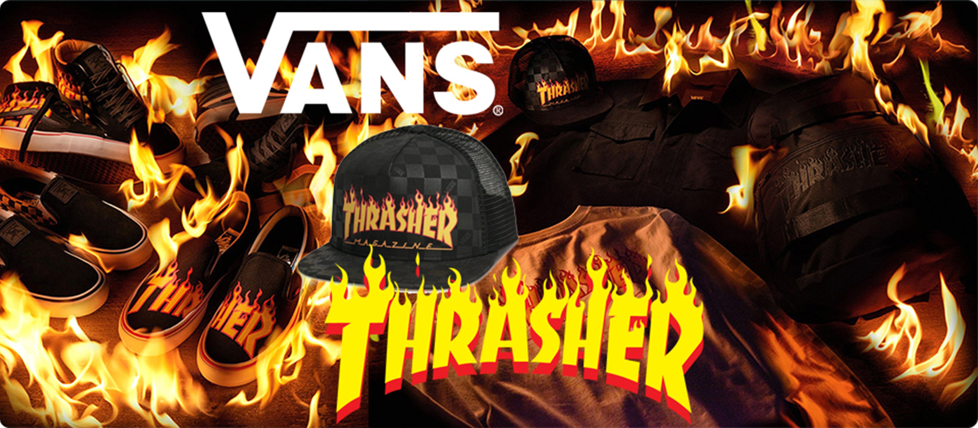 Vans X Thrasher Colab - SoCal Surf Shop
