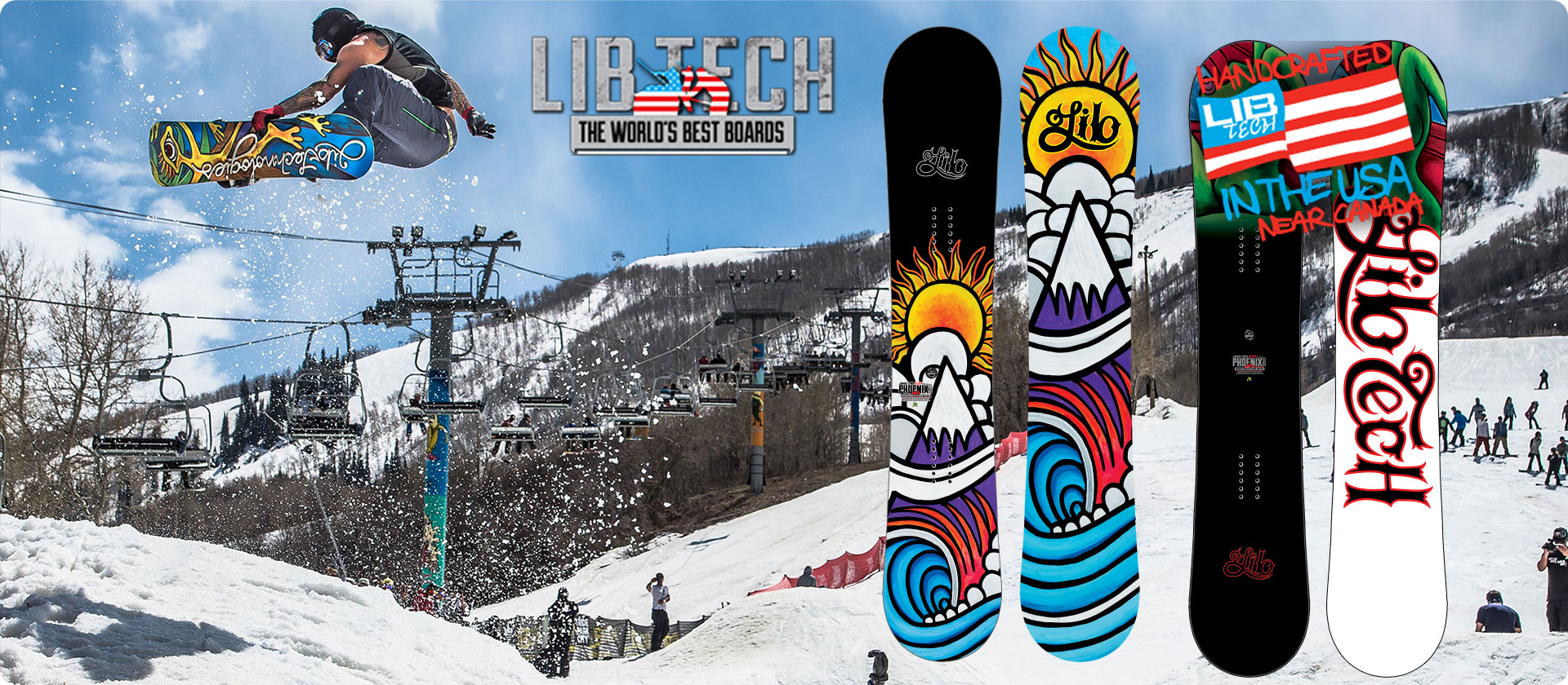 Lib Tech Snowboards available at  SoCal Surf Shop