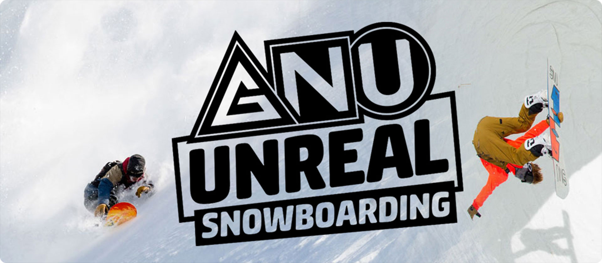 GNU Unreal Snowboarding Available at SoCal Surf Shop