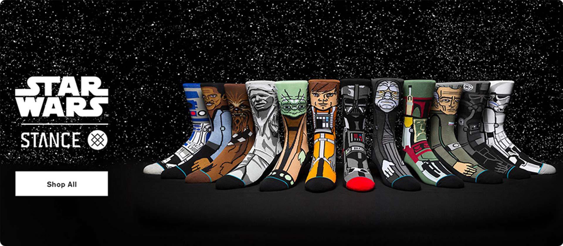 Shop Stance X Star Wars Collection at SoCal Surf Shop -Your Southern California Lifestyle Store