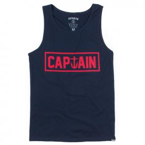 Captain Fin - Naval Captain Tank  Navy