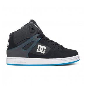 DC - Boy's 1.5-2 Rebound KB High Top Shoes