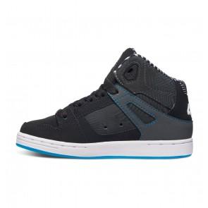 DC - Boy's Rebound KB High Top Shoes Size 2