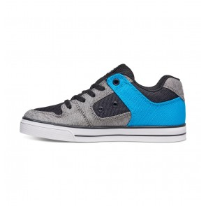 DC -Pure Elastic TX SE - Low-top Skate Shoes for Boys