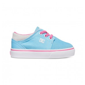 DC - Toddler Trase Slip Shoes Cyan