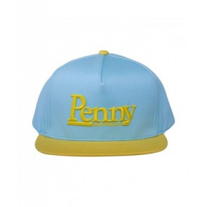 Penny Skateboards - Yellow & Blue Snapback Cap