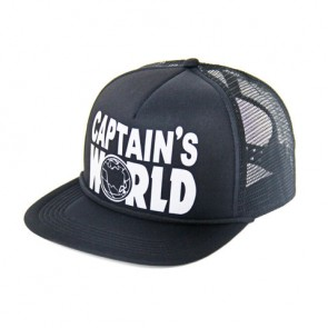Captains World Foam Trucker Hat. 100% POLYESTER