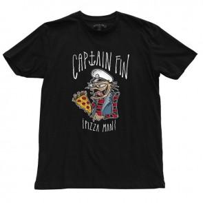 Captain Fin - Pizza Man Mens Premium Tee