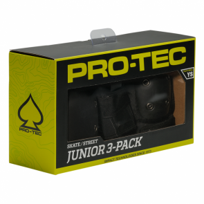 PRO-TEC - Skate/Street Knee, Elbow, & Wrist Pad Set - Junior