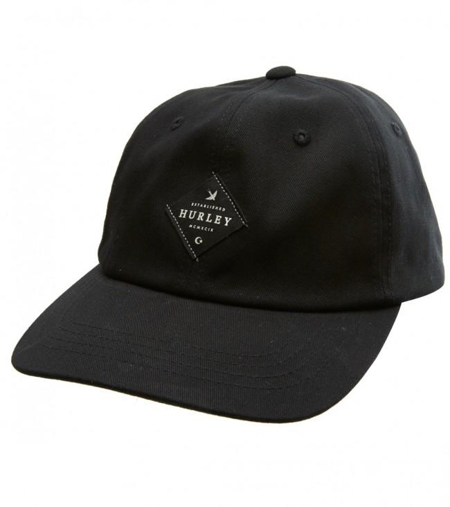 a3f6d249905f3 Hurley - San Pedro Dad Hat Black