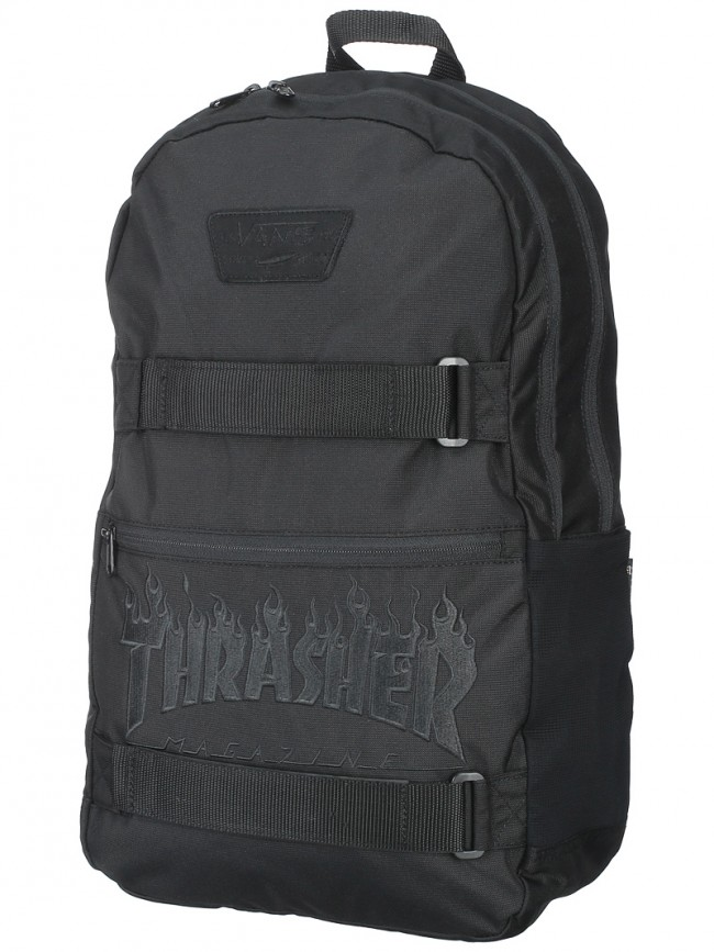 69a60672125253 Vans X Thrasher Authentic III Backpack